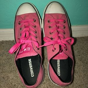 Converse WORK ONCE Low Tops Hot Pink